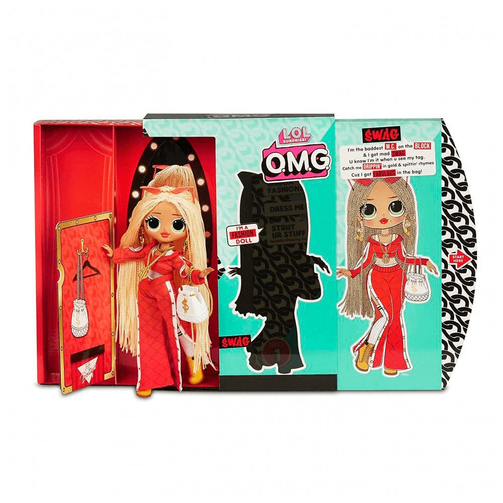 Большая кукла LOL Surprise OMG Swag Fashion Doll с 20 сюрпризами - 4